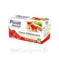 Picot Maman Tisane d'allaitement Fruits rouges 20 Sachets à MONTEUX