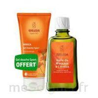 Weleda huile de massage arnica 200ml  + Gel douche OFFERT à MONTEUX