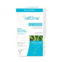 Netline Crème visage/corps décolorante peau sensible 30+30ml à MONTEUX