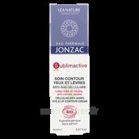Jonzac Eau Thermale Sublimactive Crème soin contour yeux lèvres jeunesse immédiate 15ml à MONTEUX