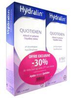 Hydralin Quotidien Gel lavant usage intime 2*200ml à MONTEUX