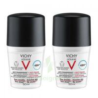 Vichy Homme Déodorant anti-transpirant anti trace 48H 2*Billes/50ml à MONTEUX