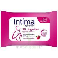 Intima Gyn'Expert Lingettes Cranberry Paquet/30 à MONTEUX