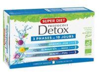 Superdiet Ma Détox Ciblée Thym bio Solution buvable voies respiratoires 10 Ampoules/15ml