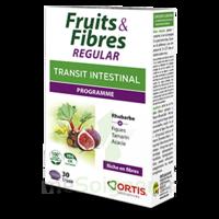 Ortis Fruits & Fibres Regular Comprimés B/30 à MONTEUX