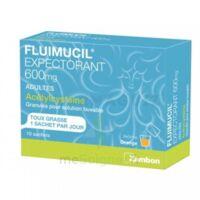 Fluimucil Expectorant Acetylcysteine 600 Mg Glé S Buv Adultes 10sach à MONTEUX