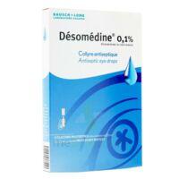 Desomedine 0,1 % Collyre Sol 10fl/0,6ml à MONTEUX