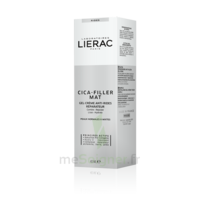 Liérac Cica-Filler MAT Gel crème anti-rides réparatrice T/40ml