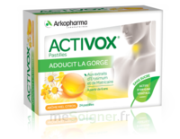 Activox sans sucre Pastilles miel citron B/24 à MONTEUX