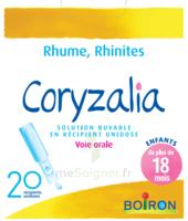 Boiron Coryzalia Solution Buvable Unidose B/20 à MONTEUX