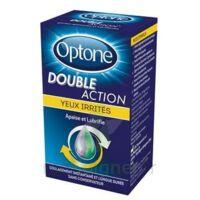 Optone Double Action Solution Oculaire Yeux Irrités Fl/10ml Promo à MONTEUX