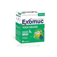 Exomuc 200 Mg, Granulés Pour Usage Oral En Sachet 15 Sachets/2g à MONTEUX