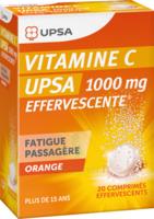 Vitamine C Upsa Effervescente 1000 Mg, Comprimé Effervescent à MONTEUX